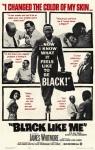 Dans la peau d'un noir, Black like me,racisme,ségrégation raciale,mouvement des droits civiques,journalisme,John Howard Griffin,voyage,états-unis,carl lerner,1964